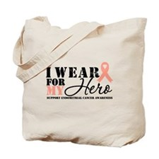 Endometrial Cancer Hero Tote Bag