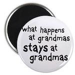 What Happens At Grandma's Magnet