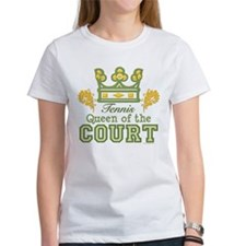 Queen Of The Court Tennis Tee