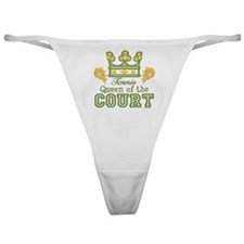Queen Of The Court Tennis Classic Thong