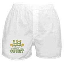 Queen Of The Court Tennis Boxer Shorts