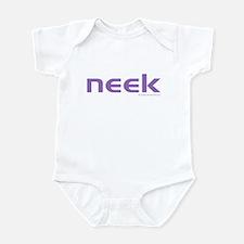 purple neek Infant Bodysuit