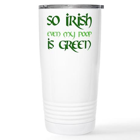 Green Poop - Stainless Steel Travel Mug