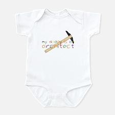 My Daddy-Architect Infant Bodysuit