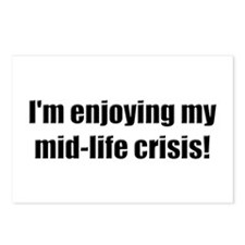 Funny Mid-Life Crisis Postcards (Package of 8)