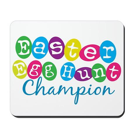 Easter Egg Hunt Champ Mousepad