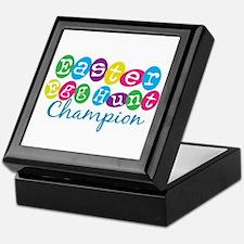 Easter Egg Hunt Champ Keepsake Box