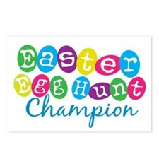 Easter Egg Hunt Champ Postcards (Package of 8)