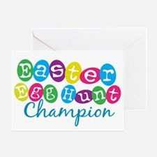 Easter Egg Hunt Champ Greeting Card