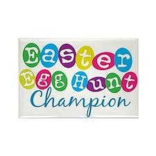 Easter Egg Hunt Champ Rectangle Magnet