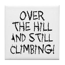Still Climbing Tile Coaster