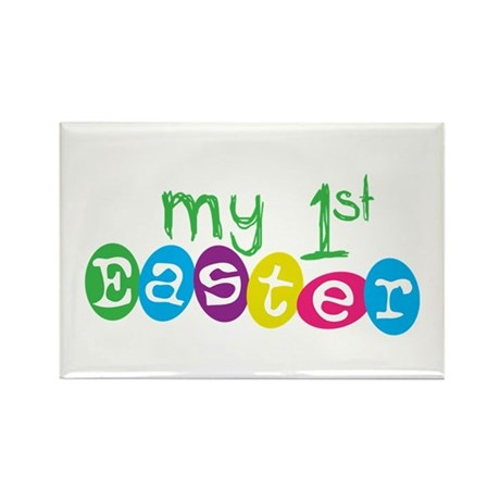 My 1st Easter Rectangle Magnet (100 pack)