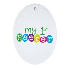 My 1st Easter Oval Ornament