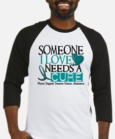 Needs A Cure OVARIAN CANCER Baseball Jersey