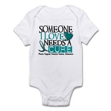 Needs A Cure OVARIAN CANCER Infant Bodysuit