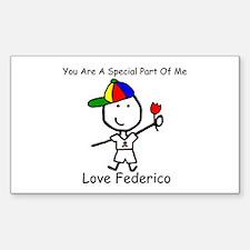 Autism - Special to Federico Rectangle Sticker 10