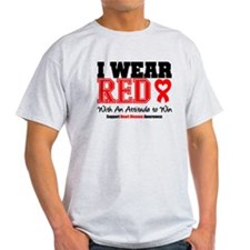 I Wear Red to Win T-Shirt