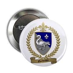"""GUILBEAUX Family Crest 2.25"""" Button (10 pack)"""