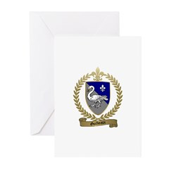 GUILBEAUX Family Crest Greeting Cards (Package of