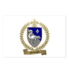 GUILBEAUX Family Crest Postcards (Package of 8)