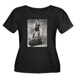 """The Black Pirate"" Women's Plus Size Sco"