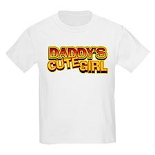 Daddy's Cute Girl T-Shirt