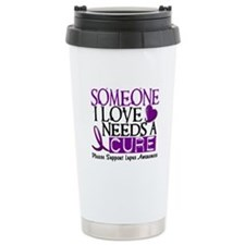 Needs A Cure LUPUS Stainless Steel Travel Mug