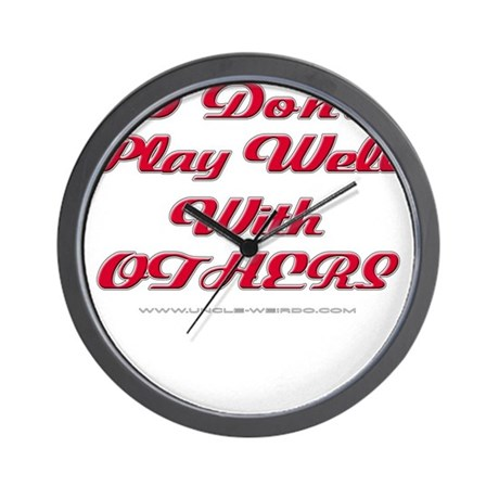 Play With Others Wall Clock