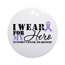 Cancer Hero Ornament (Round)