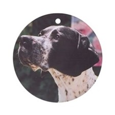 Corwyn Pointer Devoted Friend Ornament (Round)