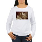 Douglas Fairbanks 2-Sided Women's Long Sleeve Tee
