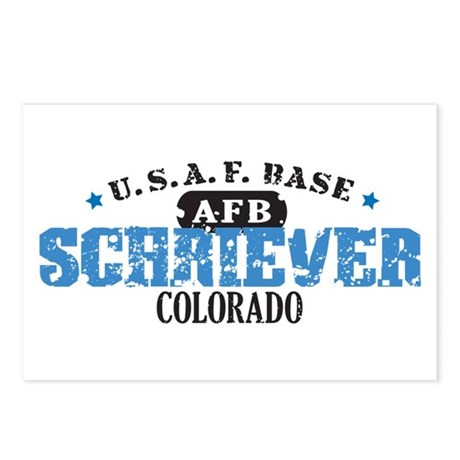Schriever Air Force Base Postcards (Package of 8)