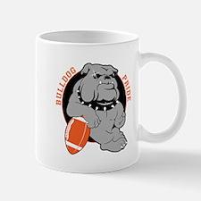 Bulldog Orange Black Mug