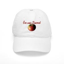 Eve was Framed Baseball Cap
