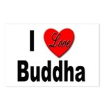 I Love Buddha Postcards (Package of 8)