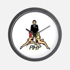 PIMP Wall Clock