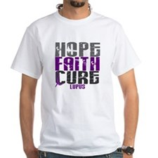 HOPE FAITH CURE Lupus Shirt