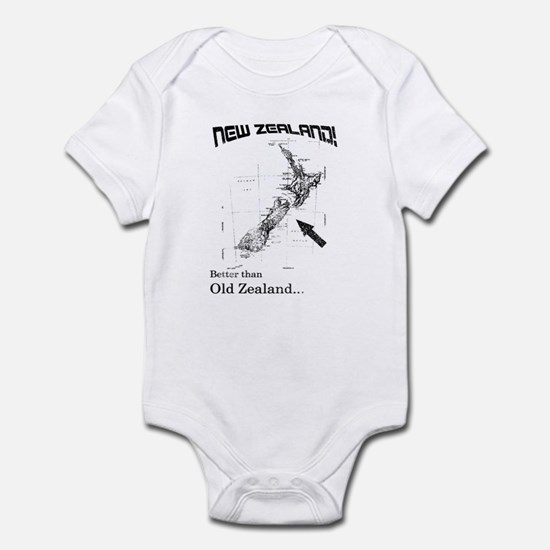 NZ, Better than Old Zealand Infant Bodysuit