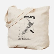 NZ, Better than Old Zealand Tote Bag