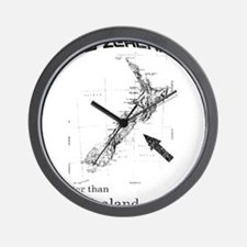 NZ, Better than Old Zealand Wall Clock