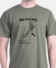 NZ, Better than Old Zealand T-Shirt