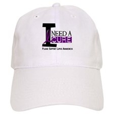 I Need A Cure LUPUS Cap