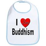I Love Buddhism Bib