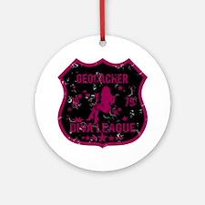 Geocacher Diva League Ornament (Round)