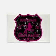 Geocacher Diva League Rectangle Magnet