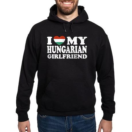 I Love My Hungarian Girlfrien Hoodie (dark)