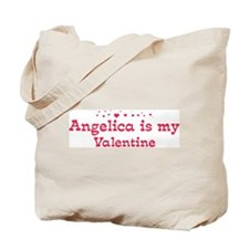 Angelica is my valentine Tote Bag