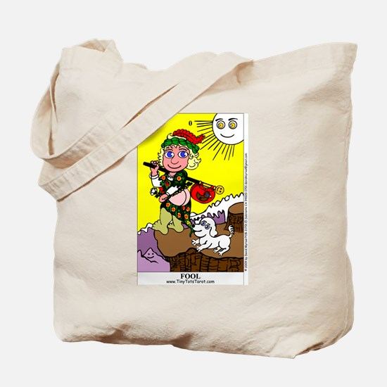 Cute Tarot fool Tote Bag