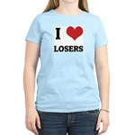 I Love Losers Women's Pink T-Shirt