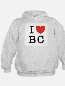 I Heart BC Hoodie